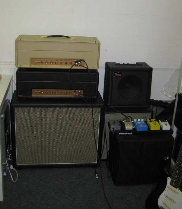 JTM45 final test rehearsal room